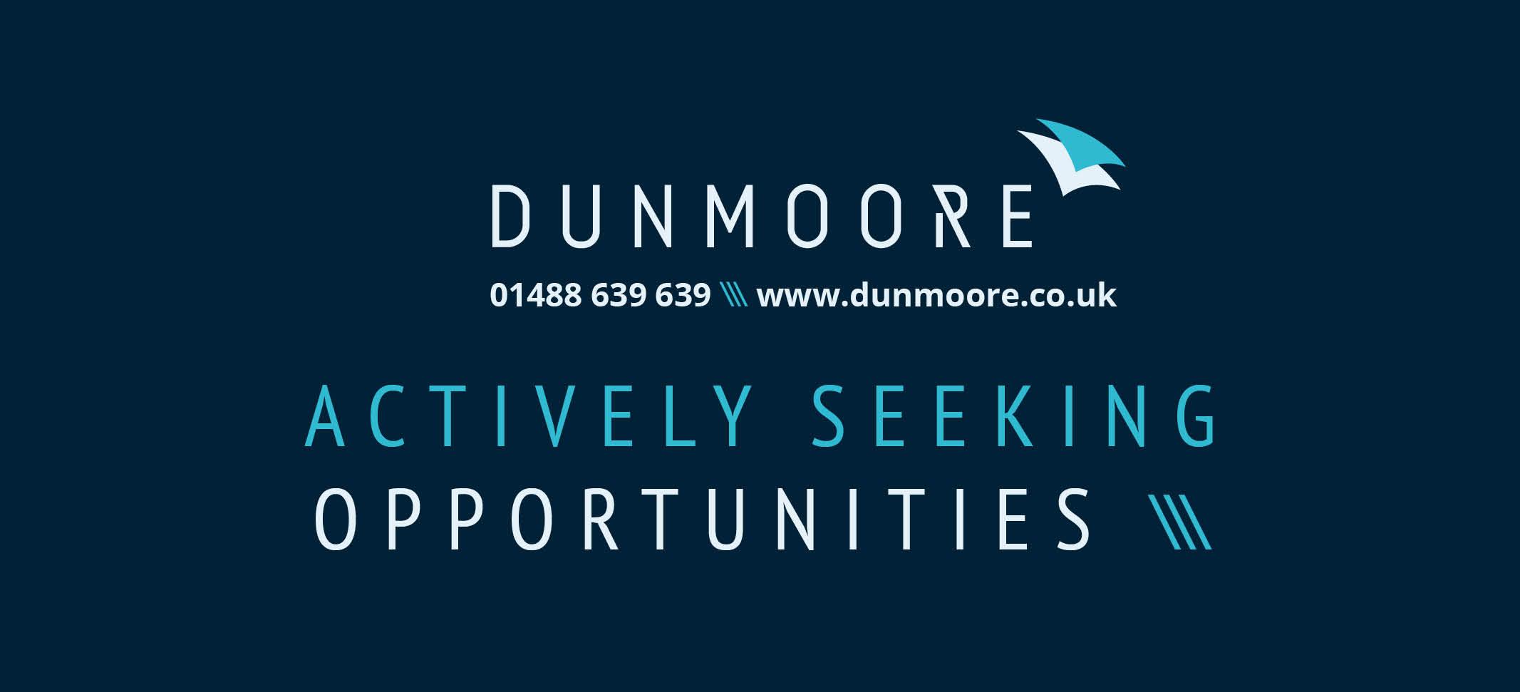 Actively Seeking Opportunities
