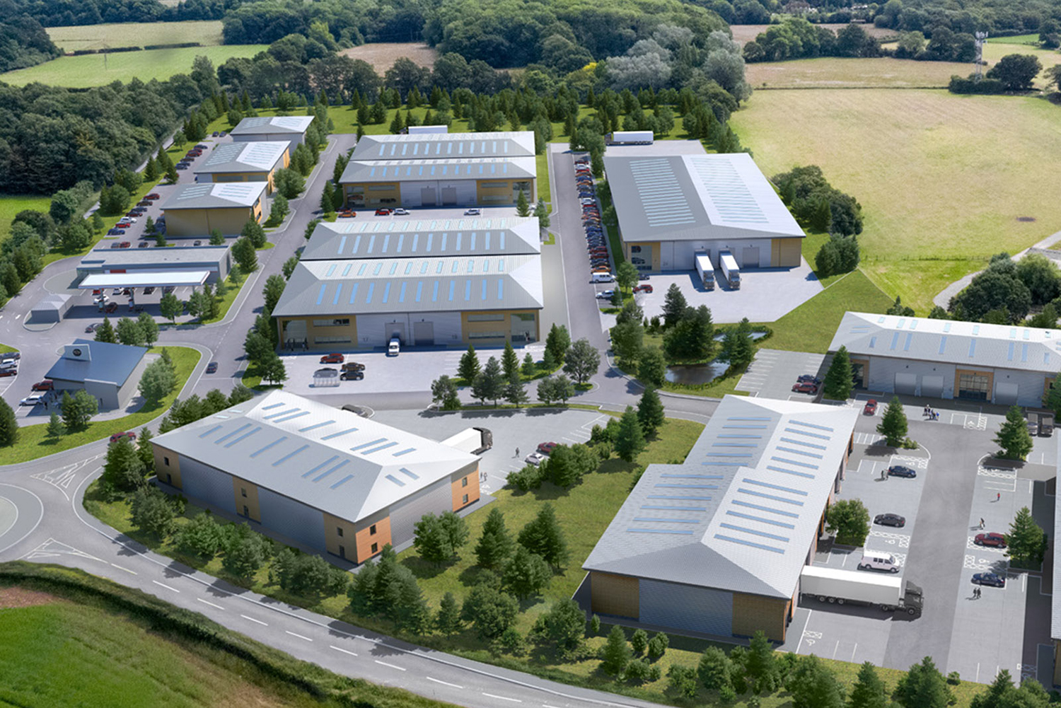 Dunmoore secures further pre-lets <br>at Billingshurst Trade Park</br>